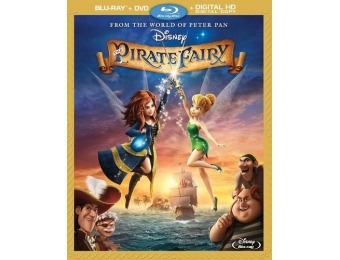 68% off The Pirate Fairy Blu-ray/DVD