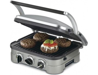 31% off Cuisinart 13-in L x 11-in W Non-Stick Contact Grill GR-4