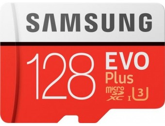 71% off Samsung EVO Plus 128GB microSDXC UHS-I Memory Card