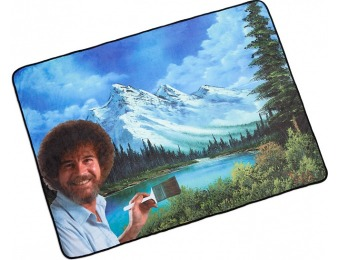 23% off Bob Ross's Happy Little Blanket