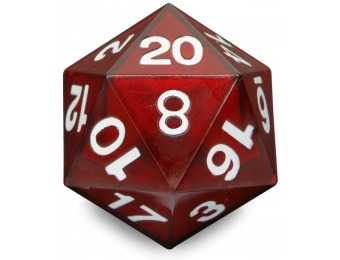 40% off Critical Hit LED D20 Die