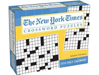 52% off New York Times Crosswords 2018 Day-to-Day Calendar