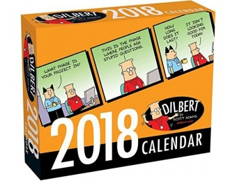 59% off Dilbert 2018 Day-to-Day Calendar