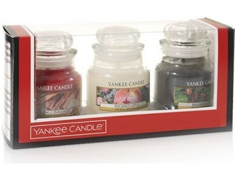 55% off Yankee Candle Holiday Small Jar Trio Gift Set