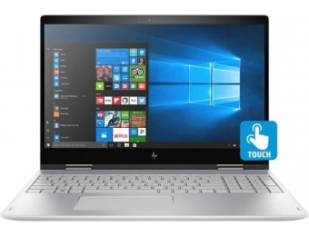 "$200 off HP ENVY x360 2-in-1 15.6"" Touch-Screen Laptop"