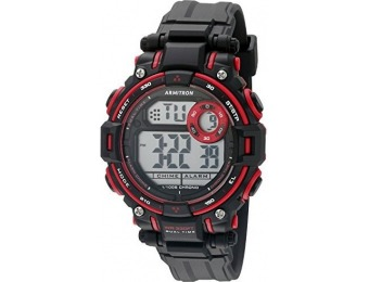 58% off Armitron Sport Unisex 45/7066RED Chronograph Watch