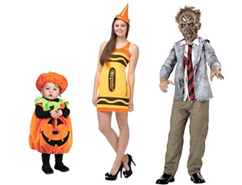 60% off Halloween Costumes for tweens, boys, girls, and babies