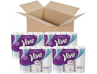 25% off VIVA Signature Designs Full Sheet Paper Towels
