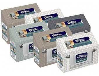 46% off Kleenex Hand Towels, 60 ct (Pack of 6)