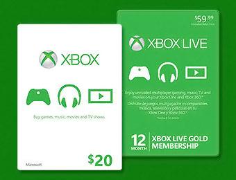 xbox gift card amazon