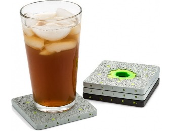 83% off Alien Acid Drip Coaster Set
