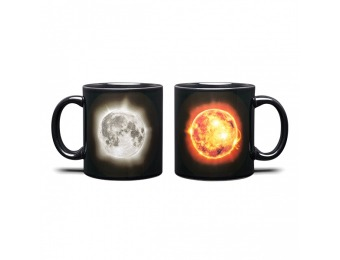 67% off Solar Eclipse 20oz Heat Changing Ceramic Mug