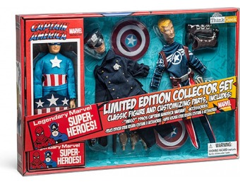 88% off ThinkGeek Exclusive Captain America Retro Set