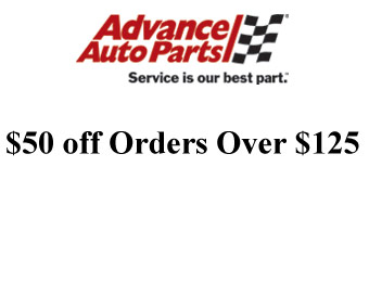 Save $50 off Orders of $125+ at Advance Auto Parts