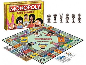 28% off USAopoly Bob's Burgers Edition Monopoly Board Game
