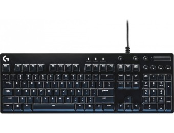 $65 off Logitech G610 Orion Red Backlit Mechanical Gaming Keyboard