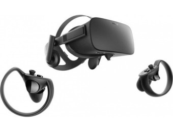 $150 off Oculus Rift + Touch Virtual Reality Headset Bundle