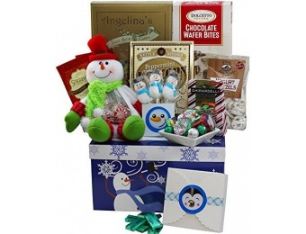 42% off Sweetest Snowman Christmas Cookie & Candy Care Package