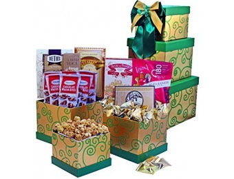 49% off Sweet Success Cookie, Candy and Snacks Gift Tower