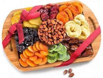 28% off Dried Fruit and Nuts Bamboo Cutting Board Serving Tray