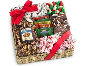 30% off Holiday Classic Chocolate, Candy & Crunch Gift Basket
