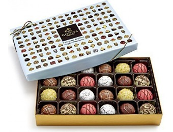 49% off Godiva Chocolatier 24 Pc Patisserie Chocolate Truffle Gift Box