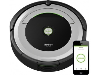 $100 off iRobot Roomba 690 Robotic Vacuum R690020
