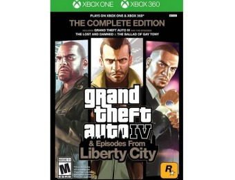 67% off Grand Theft Auto IV: Complete Edition - Xbox 360|One