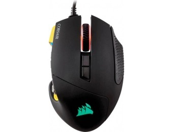 38% off CORSAIR Scimitar PRO RGB USB Optical Gaming Mouse