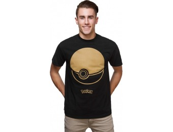 50% off Pokémon Poké Ball T-Shirt