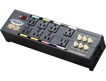 $90 off Tripplite 8 Outlet Ultimate Home Theater AV Surge Suppressor