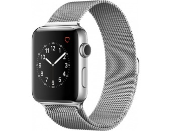 $250 off Apple Watch Series 2 42mm Stainless Steel Case Milanese