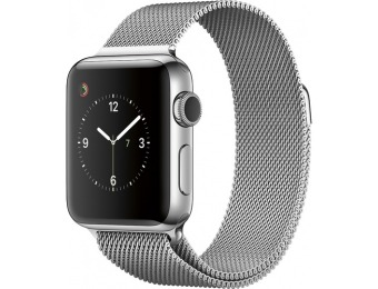 $250 off Apple Watch Series 2 38mm Stainless Steel Case Milanese