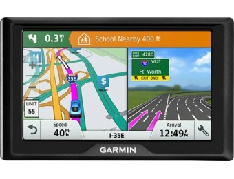 "$60 off Garmin Drive 51 LM 5"" GPS with Lifetime Map Updates"