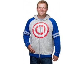 75% off Captain America French Terry Hoodie