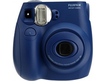 25% off Fujifilm Instax Mini 7s Indigo Instant Film Camera