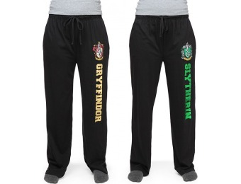 40% off Harry Potter House Unisex Black Lounge Pants