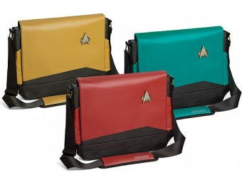 86% off Star Trek TNG Uniform Messenger Bags