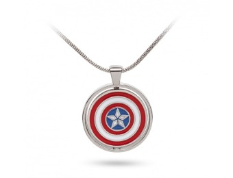 65% off Marvel Civil War Choose Your Side Pendant