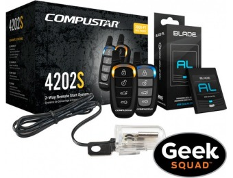 $315 off Compustar CS4202-S-KIT Remote Start System w/ Installation