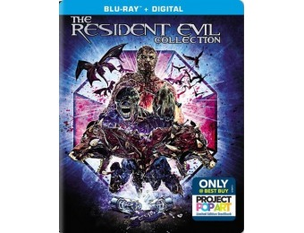 $20 off Resident Evil 6 Movie Gift Set [SteelBook] Blu-ray