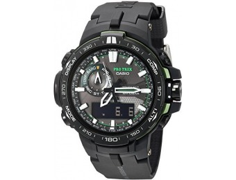 $171 off Casio Men's PRW-6000Y-1ACR Pro Trek Sport Watch