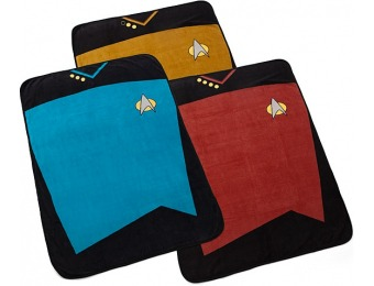 60% off Star Trek TNG Fleece Blanket