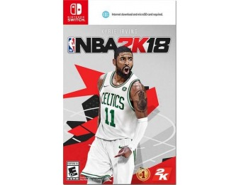 $25 off NBA 2K18 - Nintendo Switch