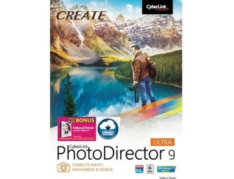 60% off PhotoDirector 9 Ultra - Mac|Windows