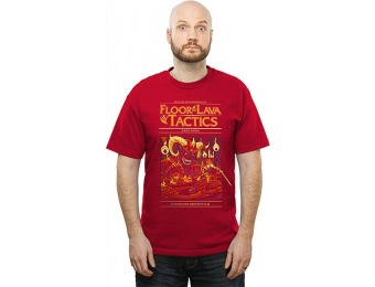 75% off The Floor is Lava Tactics T-Shirt