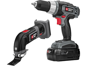 $80 off Porter-Cable 18-Volt Nickel Cadmium Cordless Combo Kit