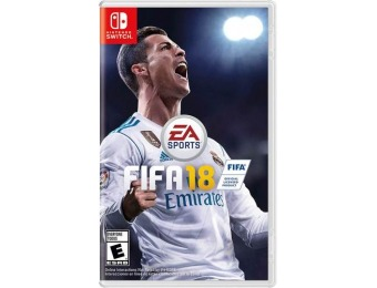 50% off EA Sports FIFA 18 - Nintendo Switch