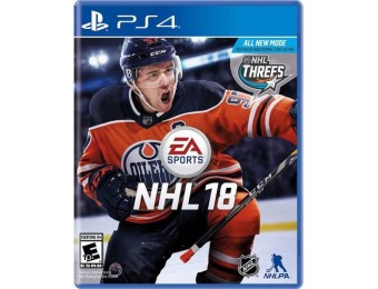 $34 off NHL 18 - PlayStation 4