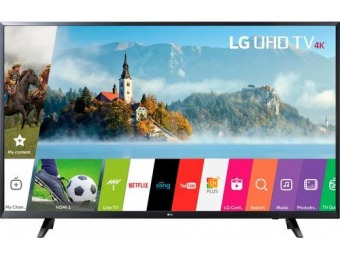 "$170 off LG 49"" LED 2160p Smart 4K Ultra HD TV"